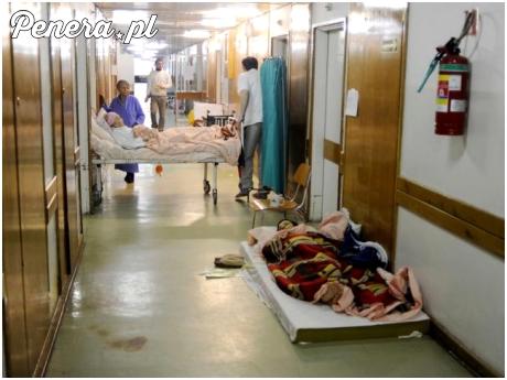 Wizyta w polskim szpitalu