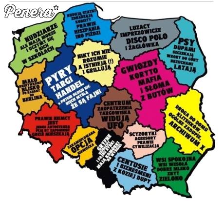 Województwa według Polaków