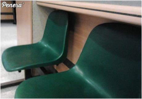 Wygodne krzesełka w urzędzie miasta