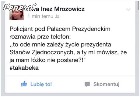 Wymówka polskiego policjanta