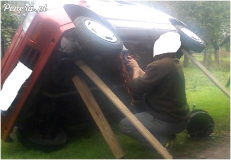Z serii - zostań mechanikiem w swoim ogrodzie