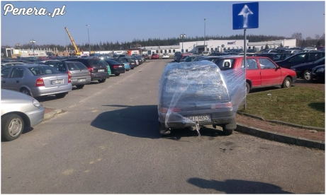 Za ch*jowe parkowanie będzie foliowanie