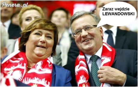 Zaraz wejdzie Lewandowski